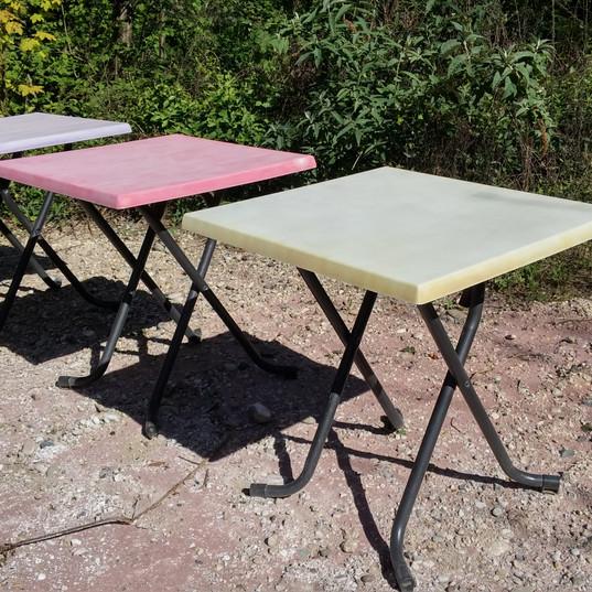 Aerogommage Tables en Résine