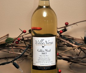 New Wine Releases: Golden Mead 2012 & Peach Wine 2012