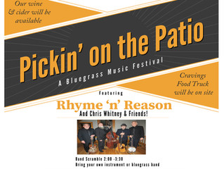 Pickin' on the Patio: A Bluegrass Music Festival