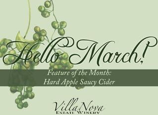 March at Villa Nova Estate Winery!