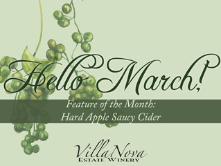 March at Villa Nova Estate Winery!