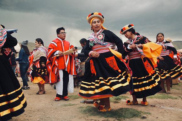 Danse à la Pachamama