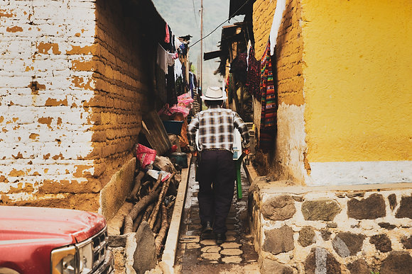Scène de vie au Guatemala