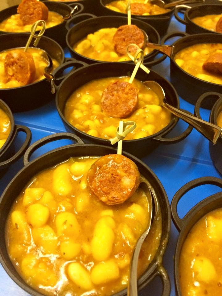 "Bohnensuppe ""Asturiana"""