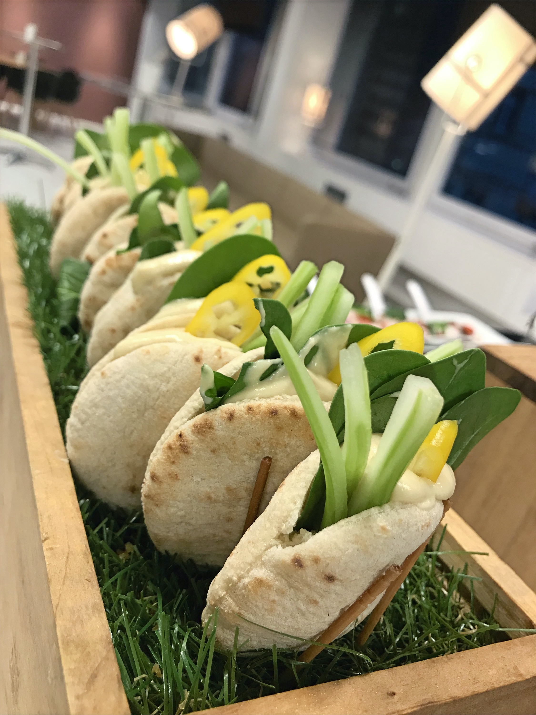 Mini-Pita Hummus