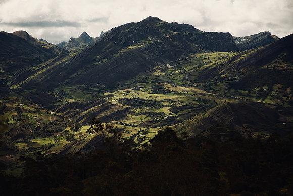 Cordillère des Andes péruvienne
