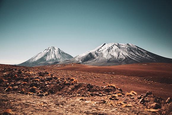 Licancabur et Lascar aux frontières boliviennes