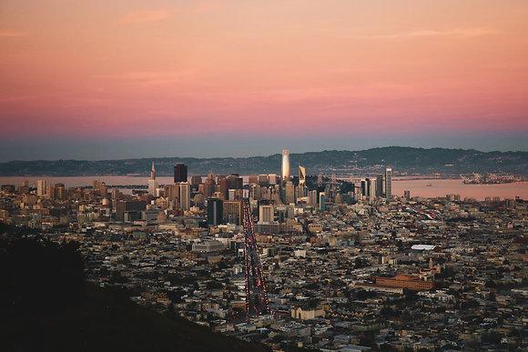 Soirée à San Francisco
