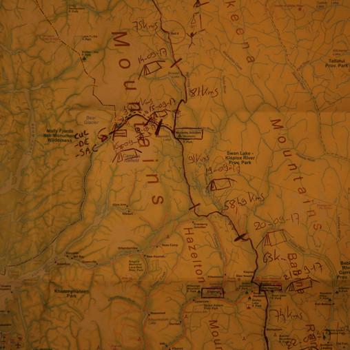 Carte Cassiar Highway