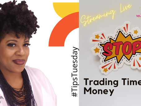 #TipsTuesday:  Exchanging time for money.  It's more spiritual than you think.