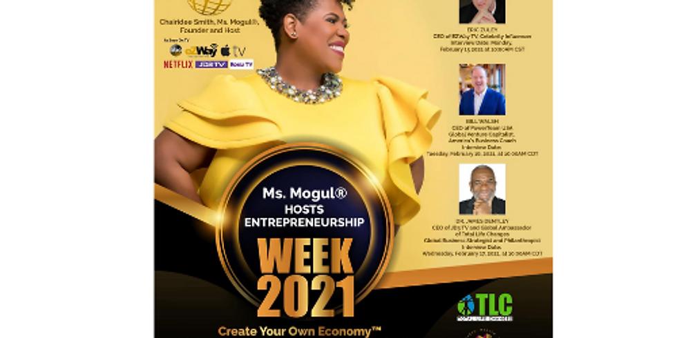 Global Entrepreneurship Week 2021: Create Your Own Economy™ Virtual Summit