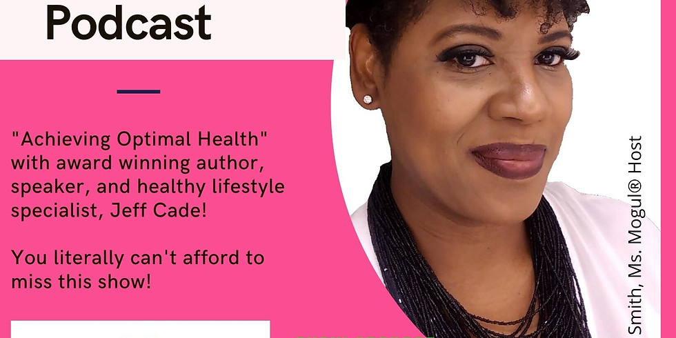 PowerTalk with Award Winning Author and Healthy Lifestyle Specialist, Jeff Cade.