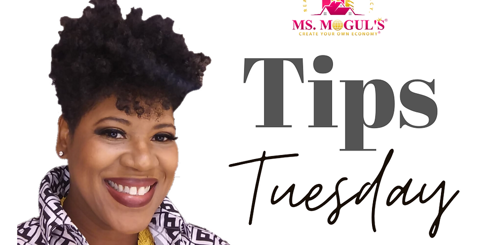 Tips Tuesday with Ms. Mogul® - Seller Financing