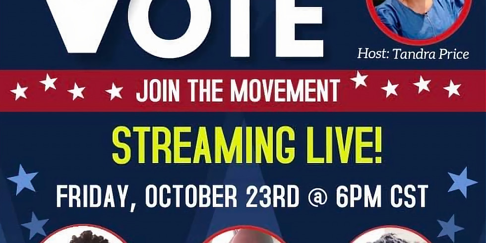 """Ms. Mogul® Speaks at """"The Power Of Your Vote"""""""