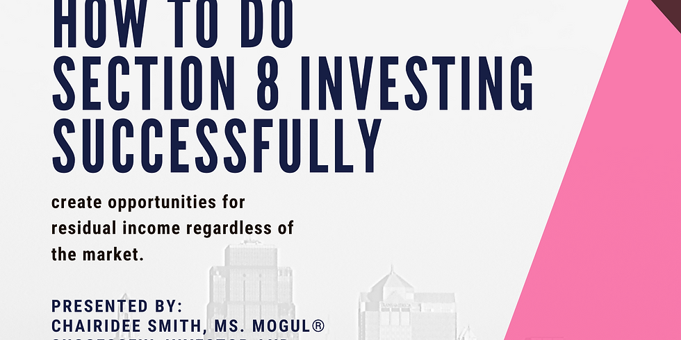 How To Do Section 8 Investing Successfully.