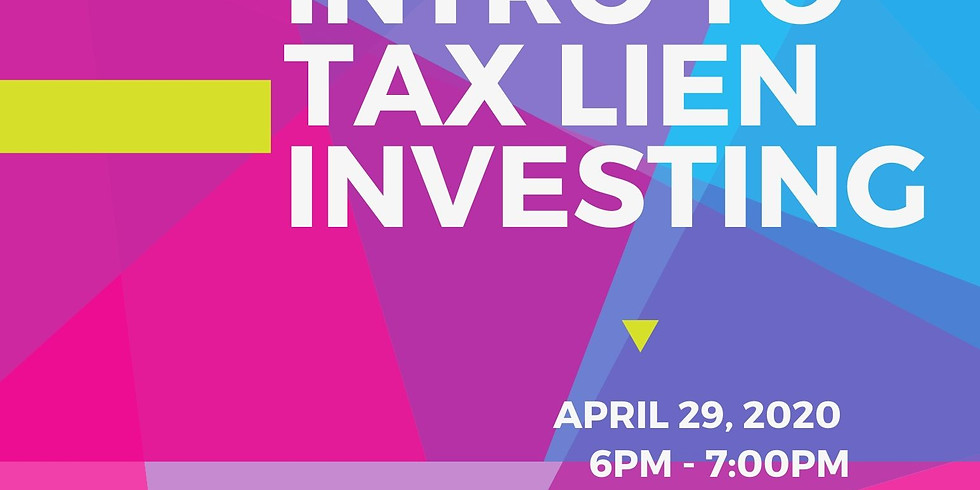 Intro to Tax Lien Investing