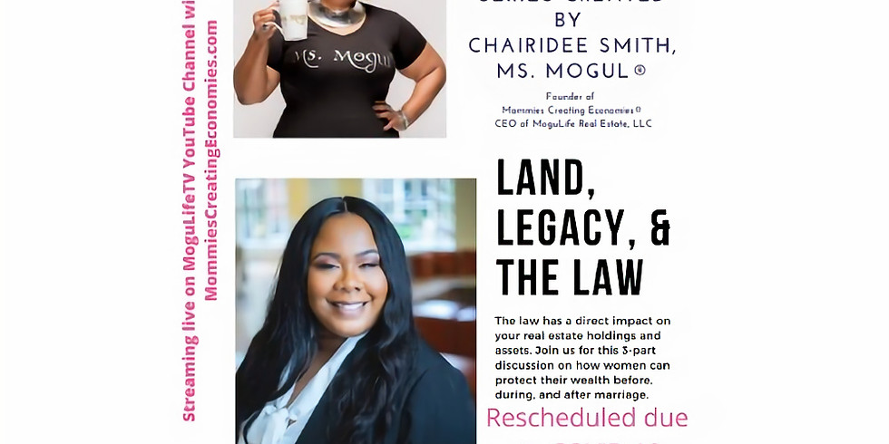 Land, Legacy, & The Law® - P2  Estate Planning