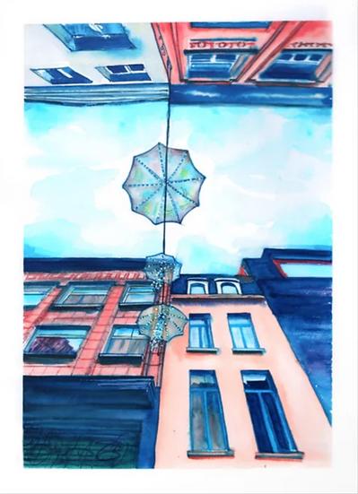 Street Umbrellas