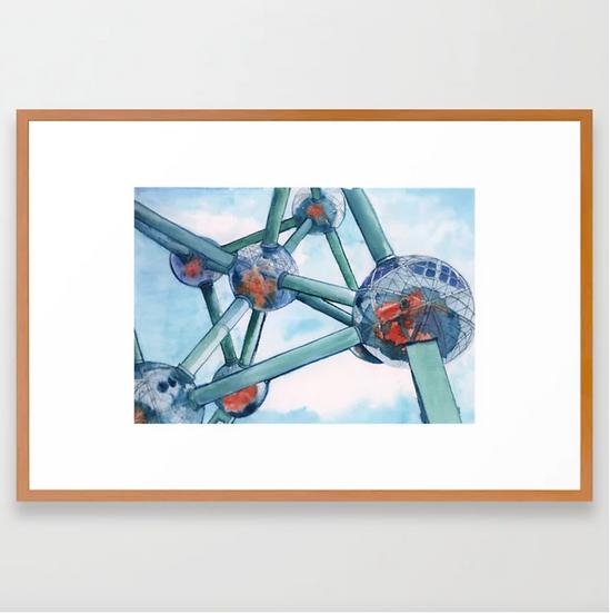 «Atomium III, Brussels».