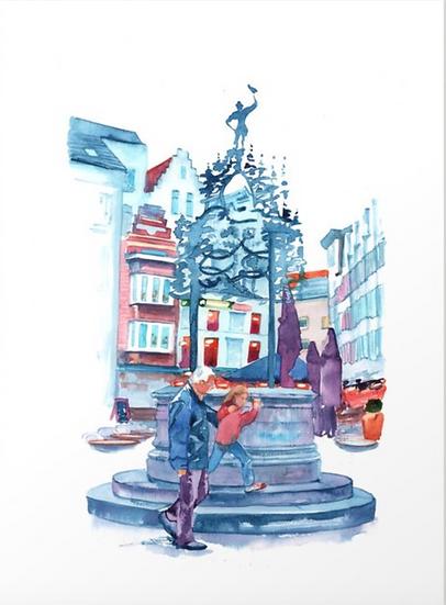 Glove Market Area (De Handschoenmarkt Antwerpen)