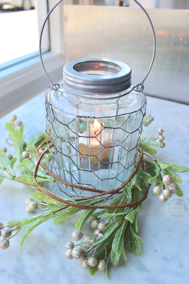 Holiday Centerpiece DIY