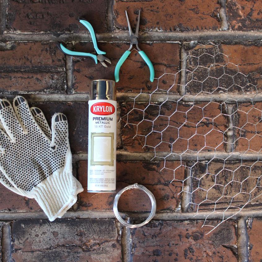 materials-needed-chicken-wire