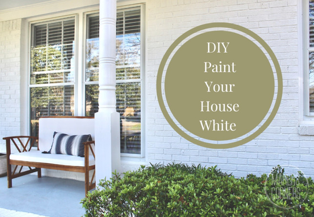 Tips on Painting Brick Exterior White