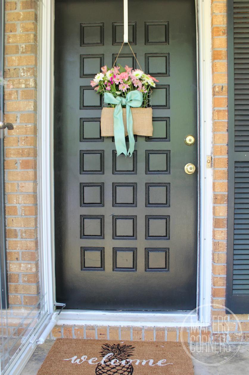 Spring front door decorations