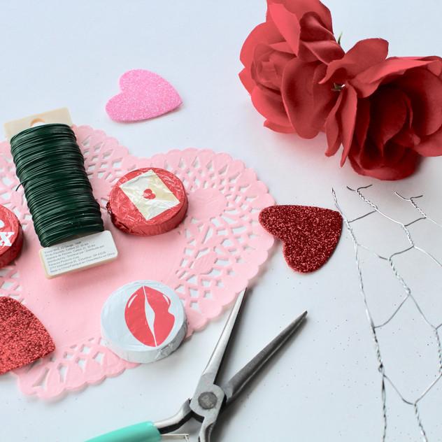 Valentine's Day supply list