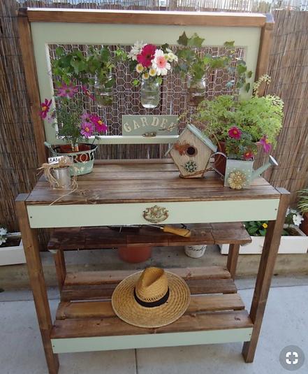 Astounding Diy 5 Potting Bench Ideas Ibusinesslaw Wood Chair Design Ideas Ibusinesslaworg
