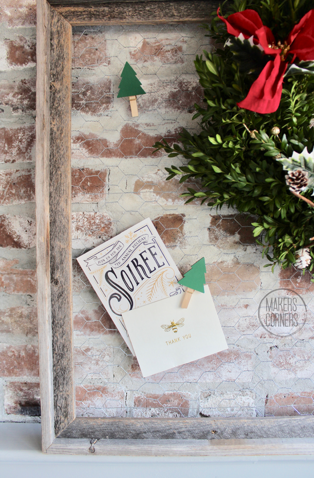 Creative Christmas Card Holder Ideas