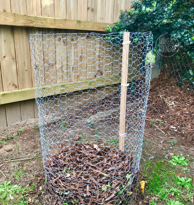 How to Make a Compost Bin Using Chicken Wire