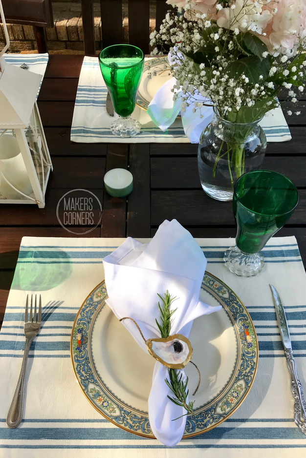 How to Throw an Al Fresco Dinner Party (with herbs from your garden)