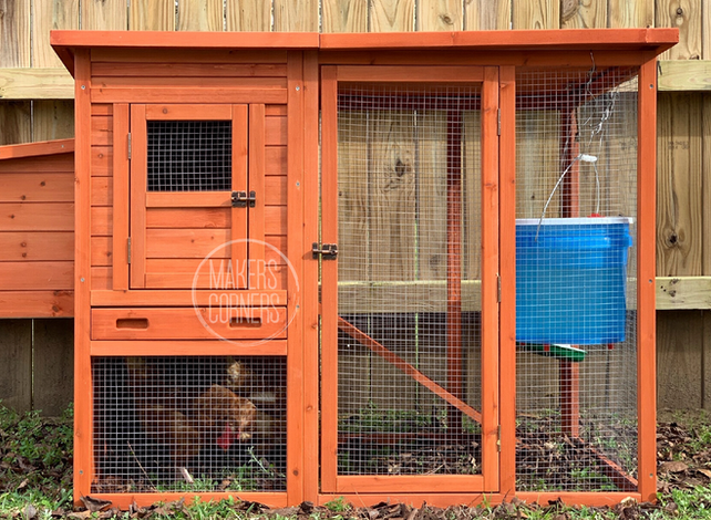 How to Make a Chicken Run Using the Multi-Purpose Fence