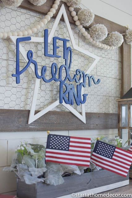 5 Fourth of July Craft Ideas Using Chicken Wire