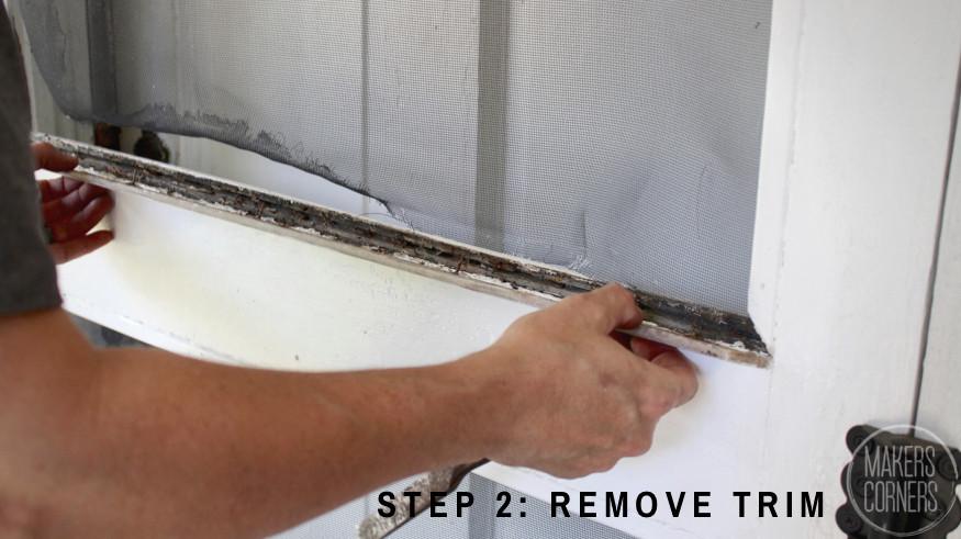 Remove trim