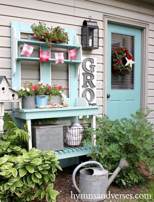 DIY: 5 Potting Bench Ideas