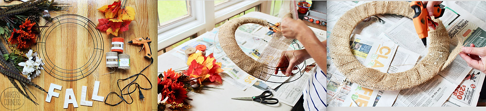 fall diy wreath
