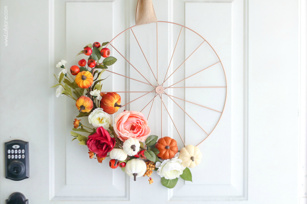 Lolly Jane fall wreath
