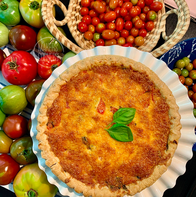 How to Make Tomato Pie