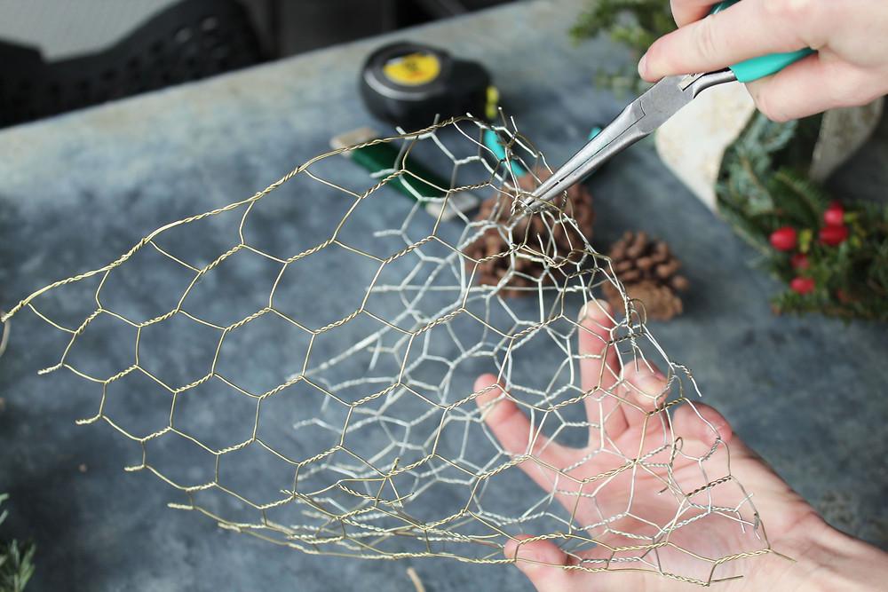 chicken wire basket
