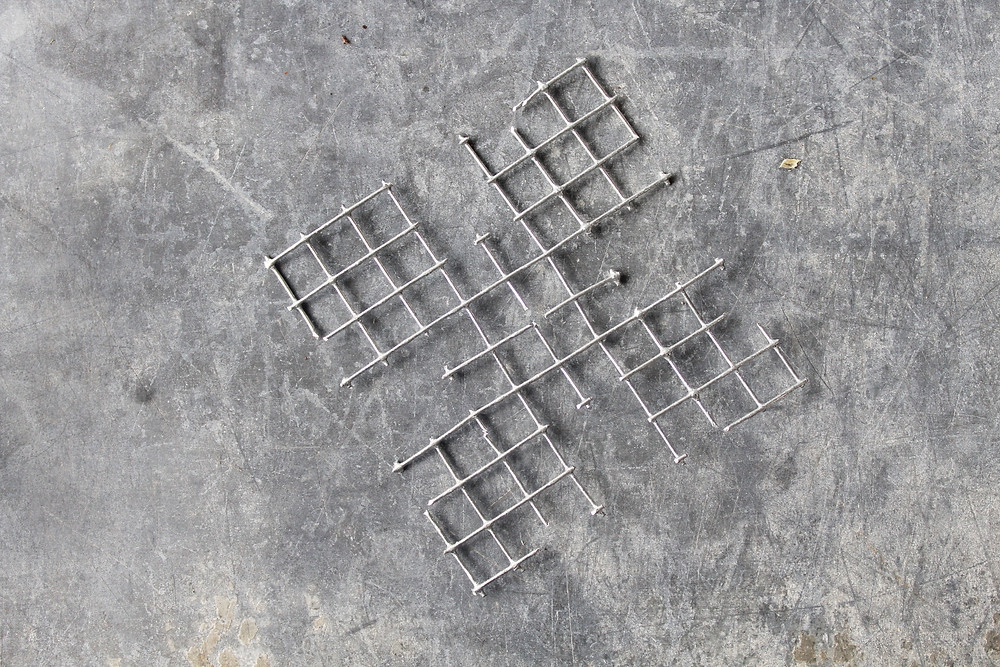 hardware cloth snowflake
