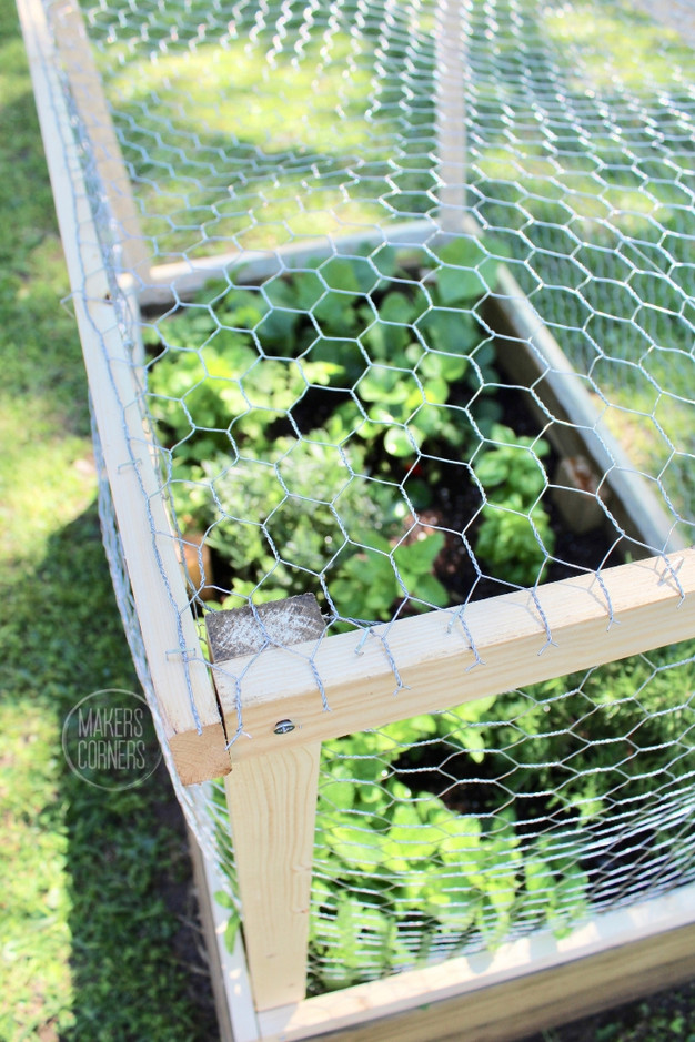 DIY: How to Make a Raised Garden Bed Cover