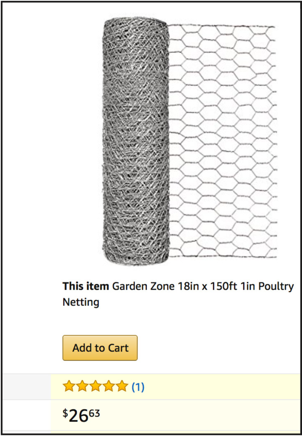 Chicken Wire Amazon