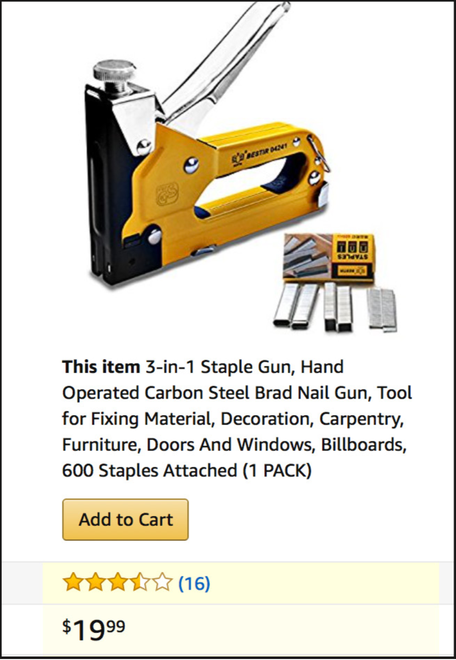 Staple Gun Amazon