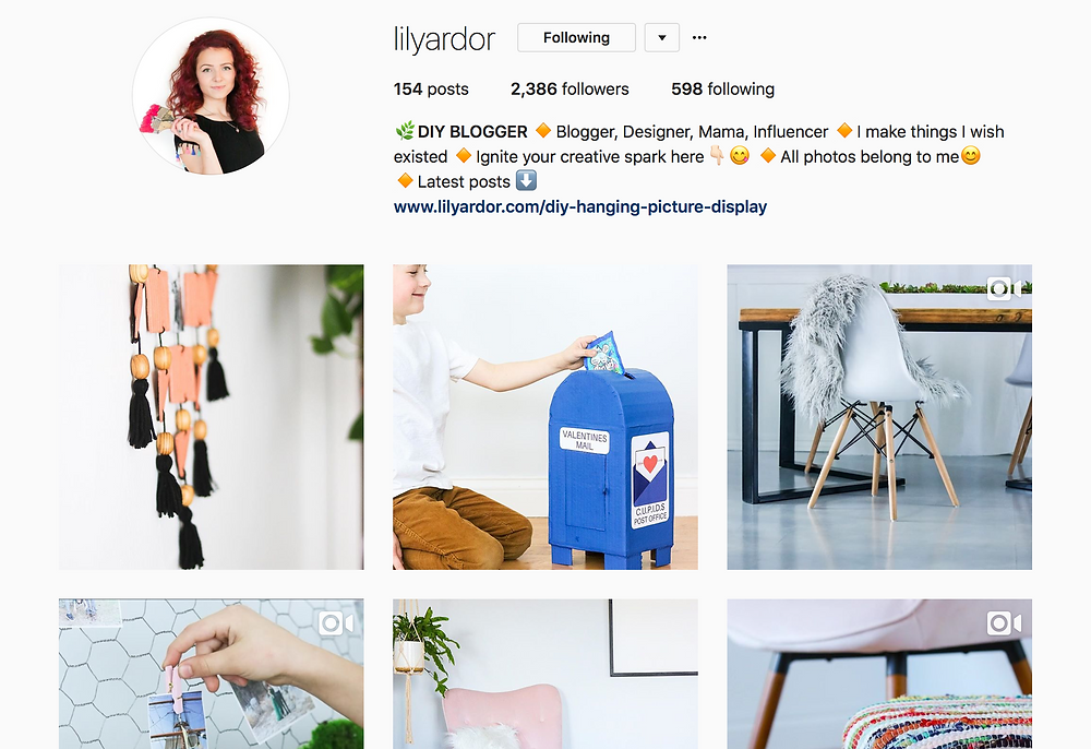 Lily Ardor Instagram Feature