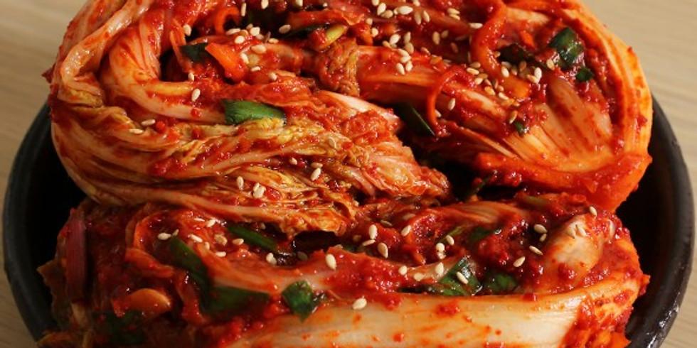 Kimchi Making via Zoom