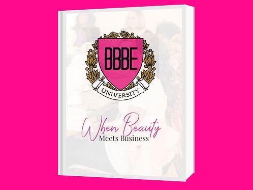 When Beauty Meets Business Workbook