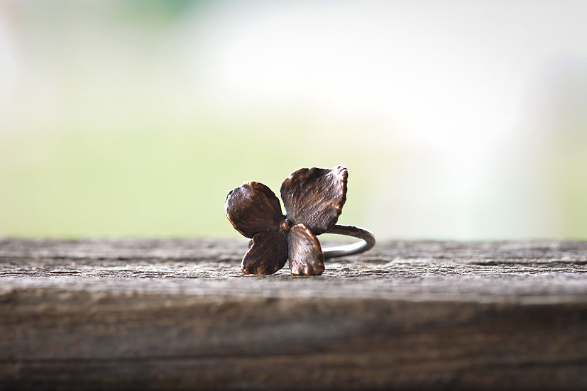 Preserved Hydrangea Flower Ring