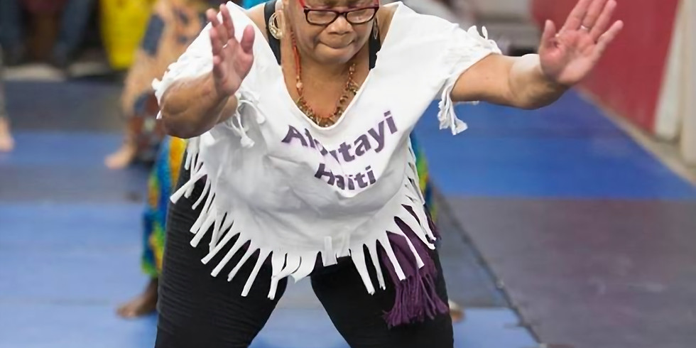 Anrage Pou Danse - NEW Teen & Adult Haitian Dance Class with Live Drumming!